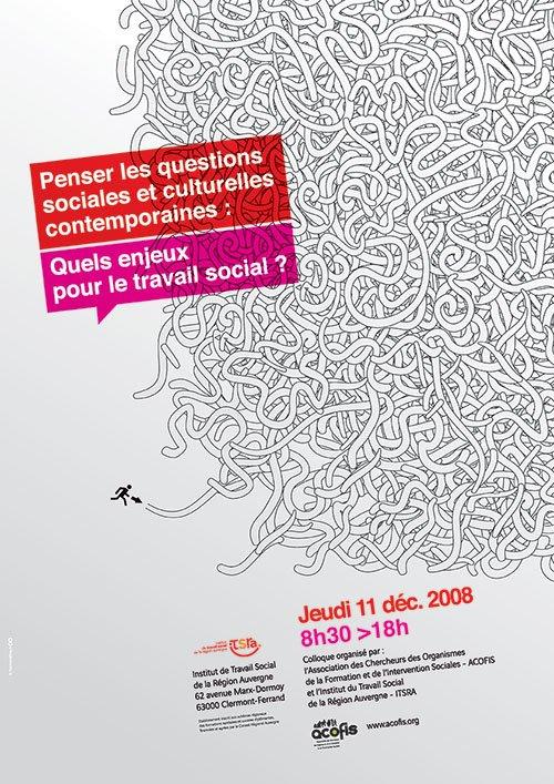 Année 2008 – Penser les questions sociales et culturelles contemporaines : quels enjeux pour le travail social ?